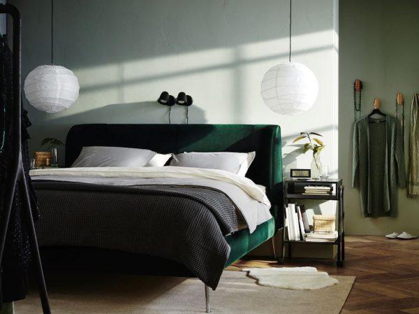 habitaciones modernas pequeñas en verde