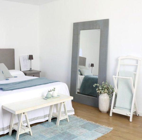 ideas decoracion dormitorios matrimonio espejos grandes