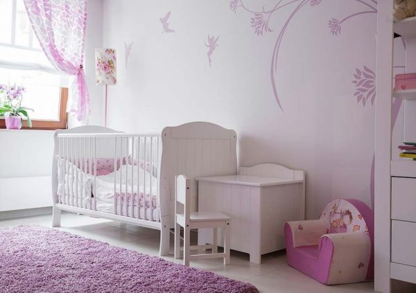 ideas para decorar habitacion bebe niña