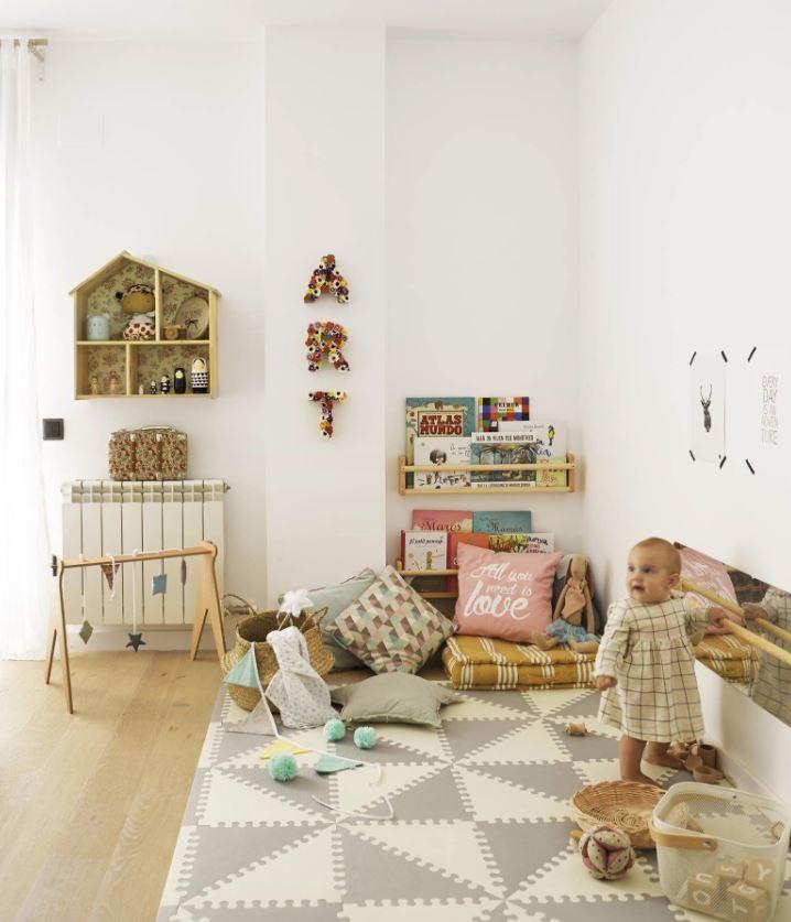 lugar de lectura para niños