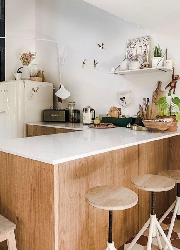 mi cocina de madera