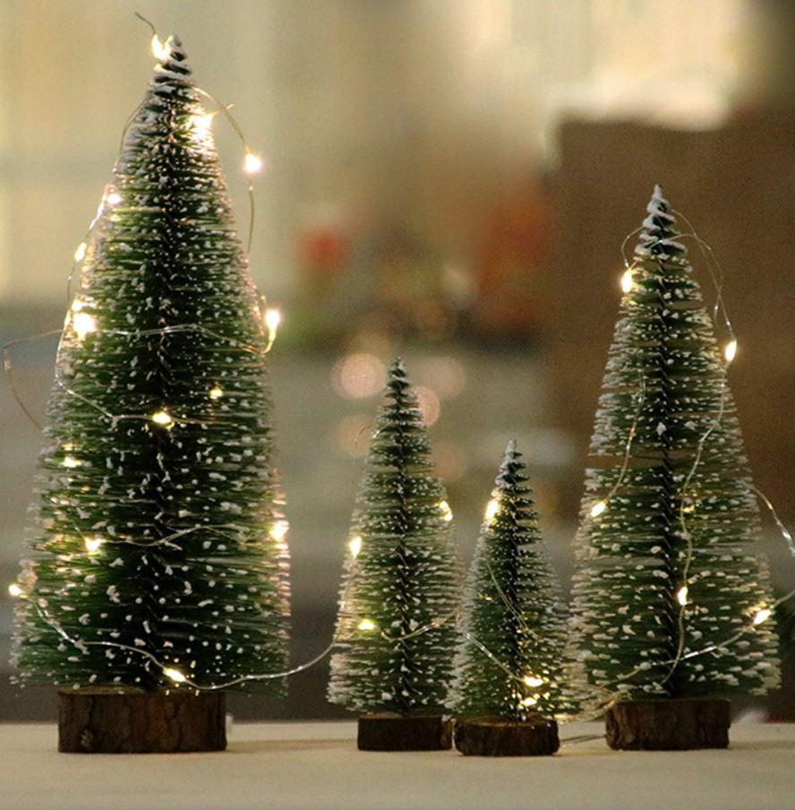 mini arboles de navidad preciosos