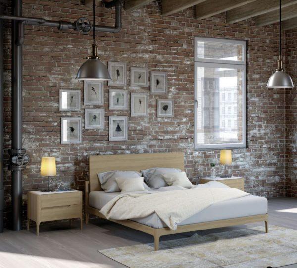 muebles estilo nordico dormitorio