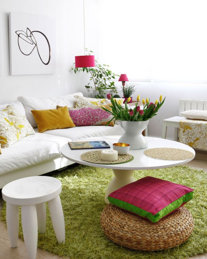 objetos para decorar mesas de centro