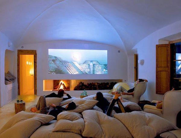 sala de cine en casa decoracion