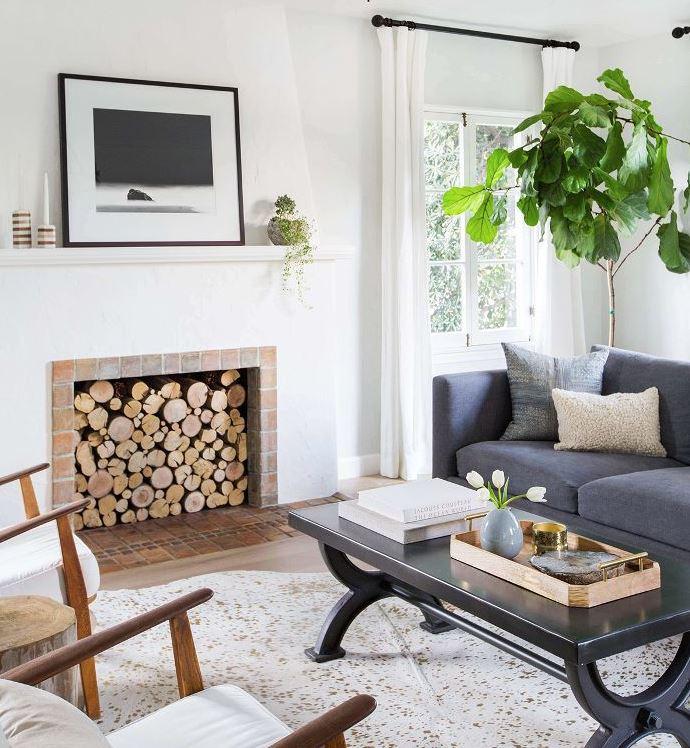 salas de estar pequeñas y modernas