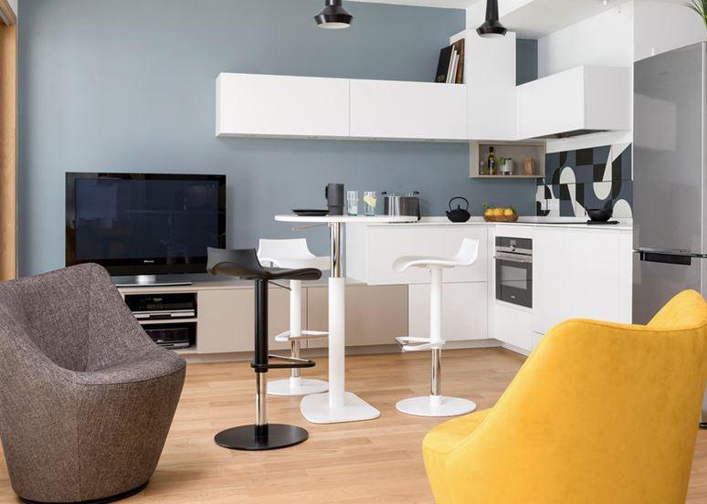 salon cocina comedor integrados