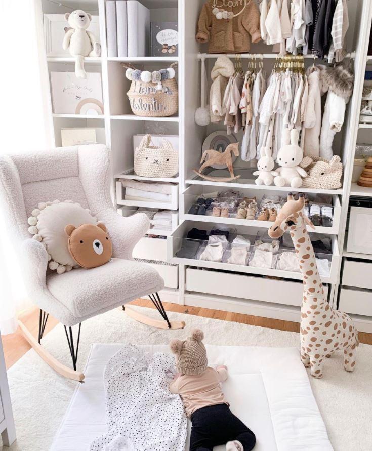 sofa para habitacion de bebe