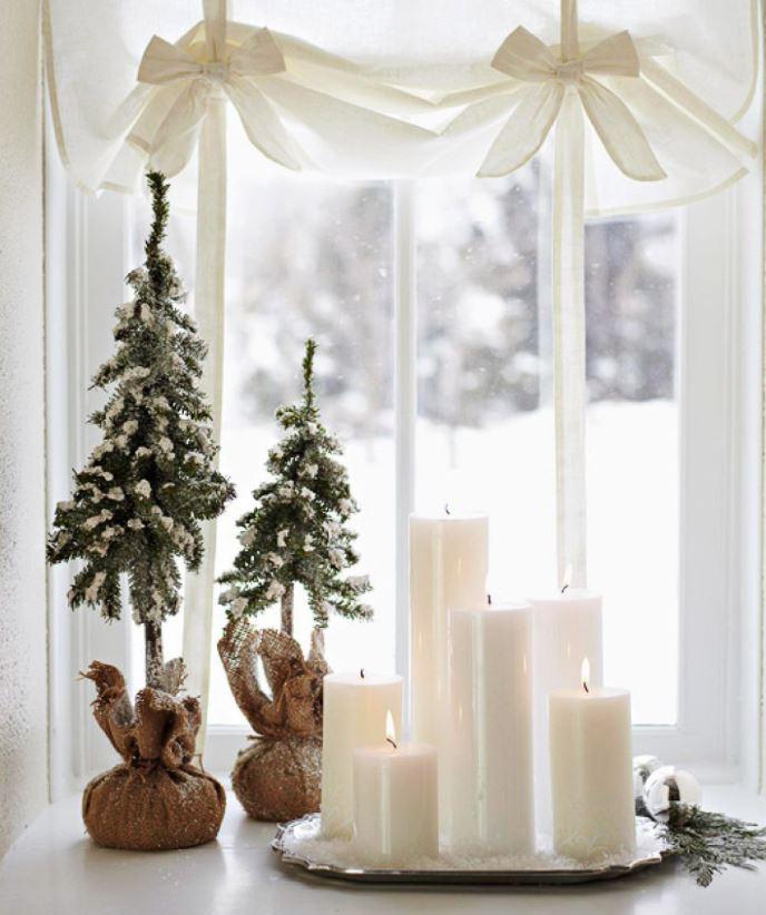 velas navideñas para decorar