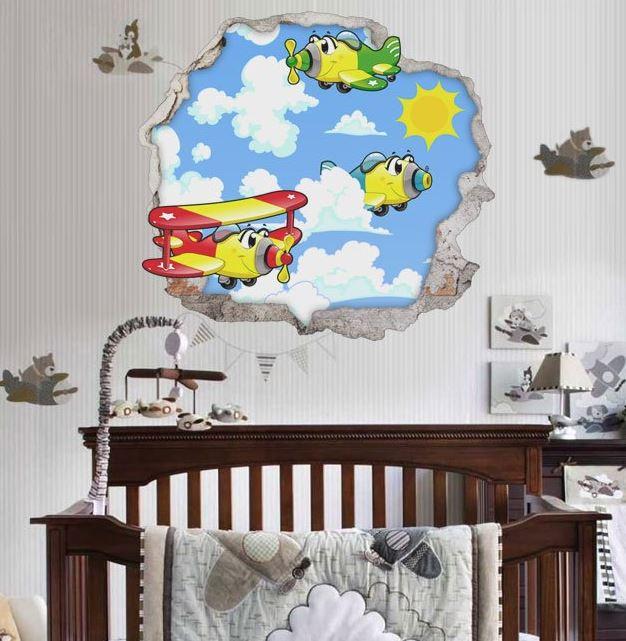 vinilos decorativos infantiles 3d para paredes