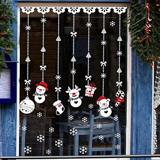 vinilos decorativos navidad originales