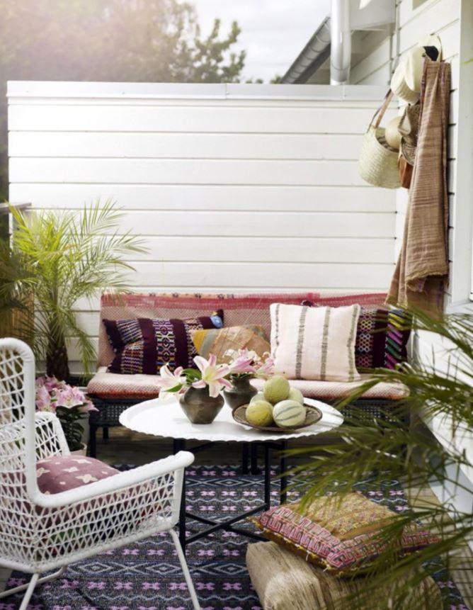 amueblar y decorar terraza pequeña