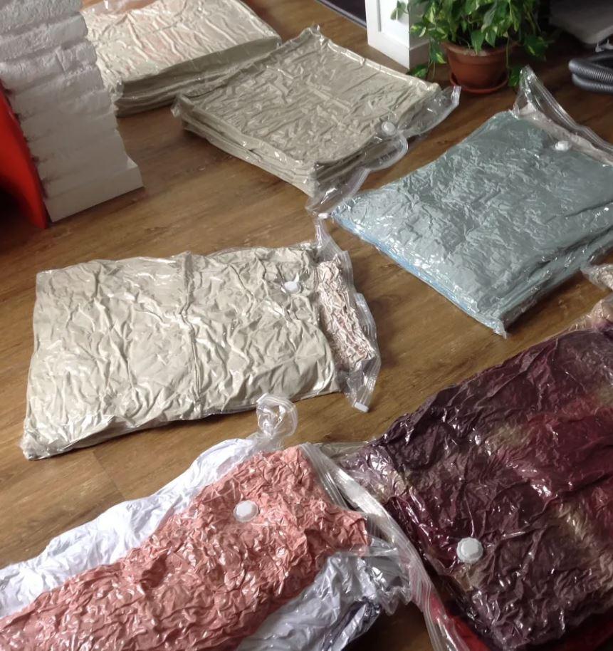 bolsas de vacio para la ropa