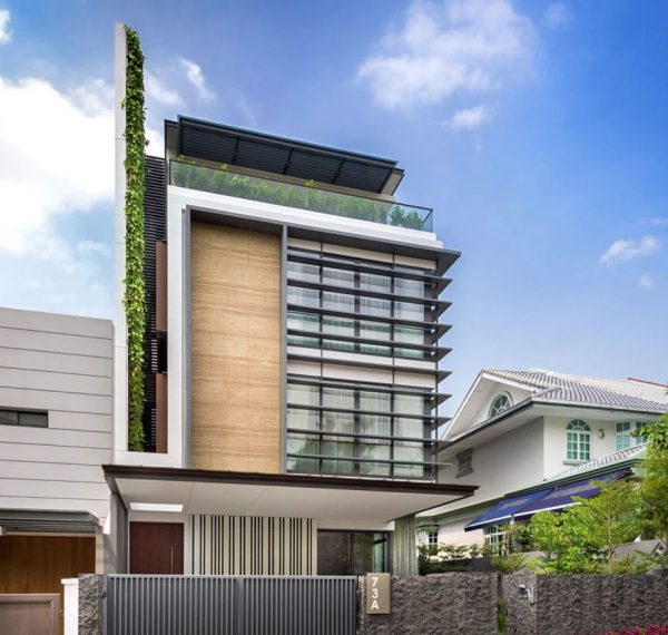 decoracion de fachadas de casas modernas