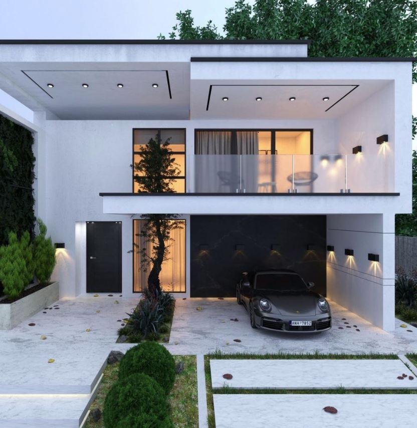 diseño de fachadas de casas