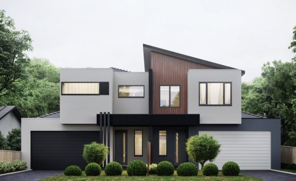 entradas casas modernas