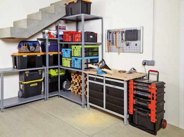 estanterias almacenaje modulares