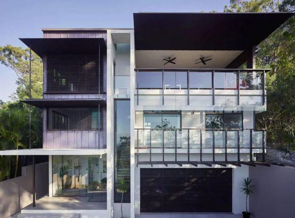 fachadas de casas rusticas de dos plantas