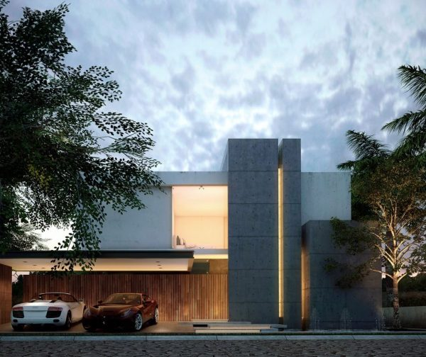fachadas de diseño hormigon