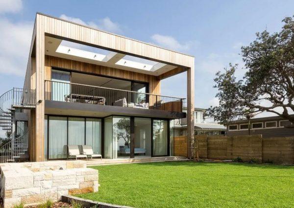 fachadas imitacion madera