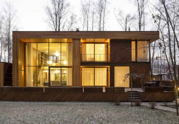 forrar casa de madera por fuera