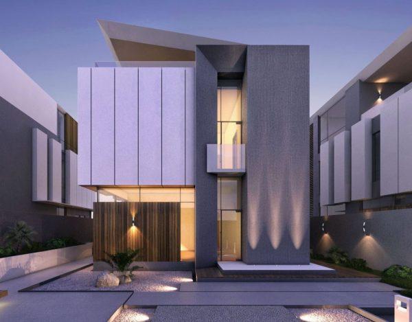 materiales para fachadas modernas