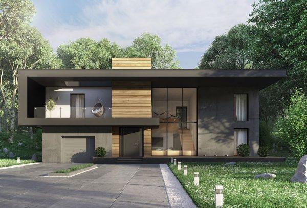 porches de casas modernas