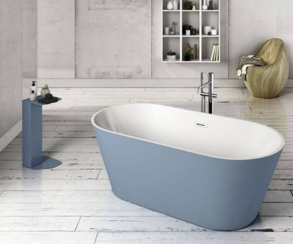 bañera exenta baño moderno