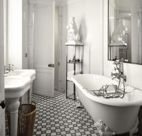 baño de diseño clasico vintage moderno
