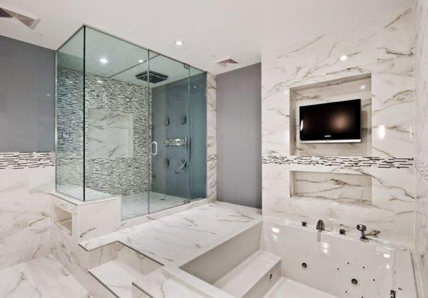 baños con jacuzzi lujosos
