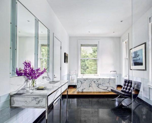 baños de marmol de lujo