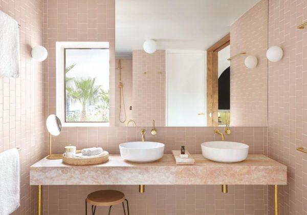 baños lujosos de marmol