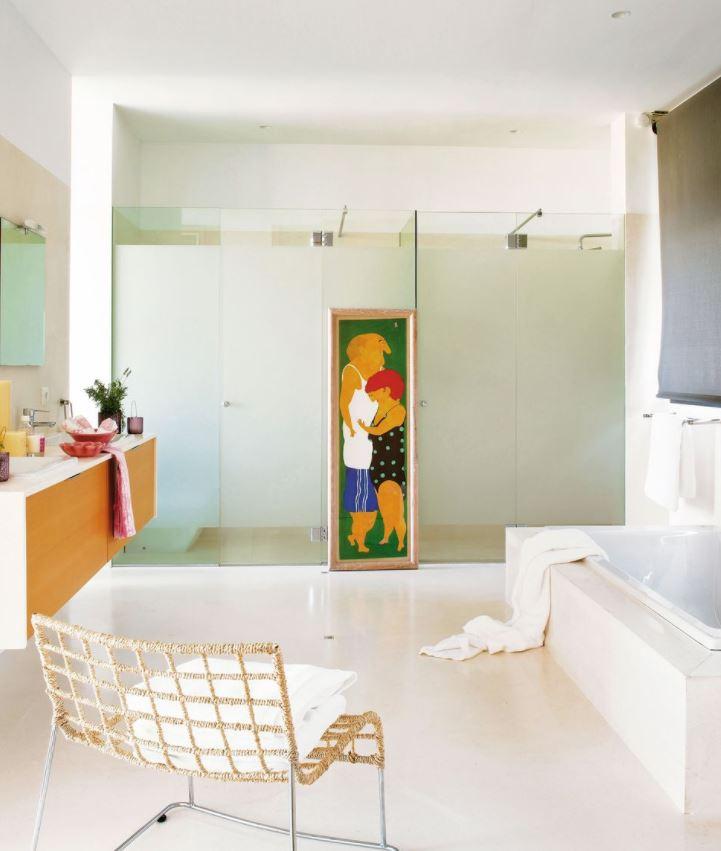 baños lujosos y grandes