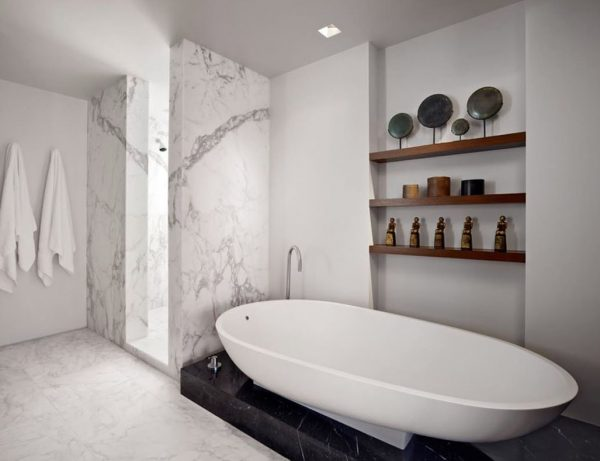 baños modernos tipo marmol