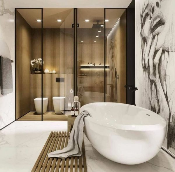 baños reformados modernos