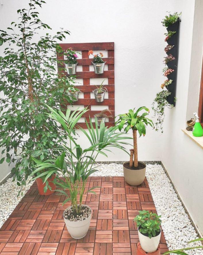 como decorar un patio interior