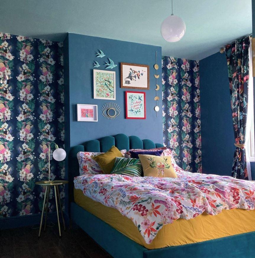 como decorar una cabecera de cama