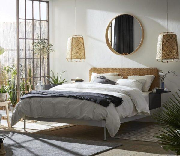 cuadros espejos para cabecero de cama
