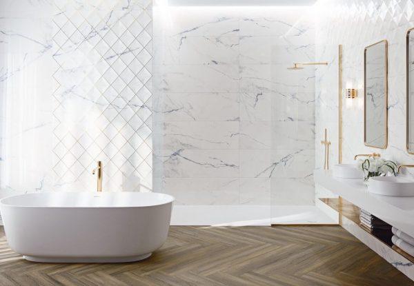 cuartos de baño de lujo modernos