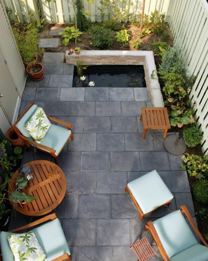 decoracion patios interiores plantas