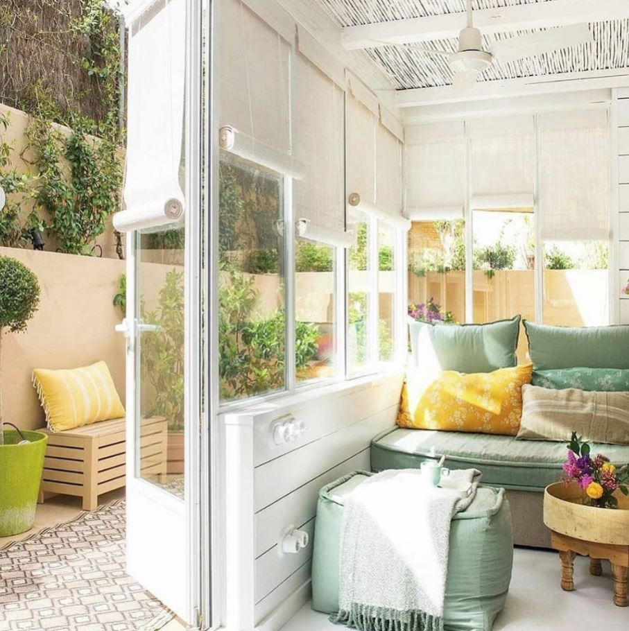 decoracion patios interiores