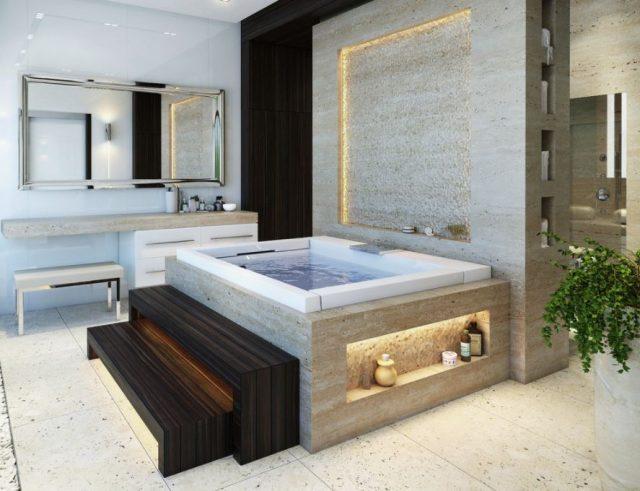 diseño de baños modernos de lujo