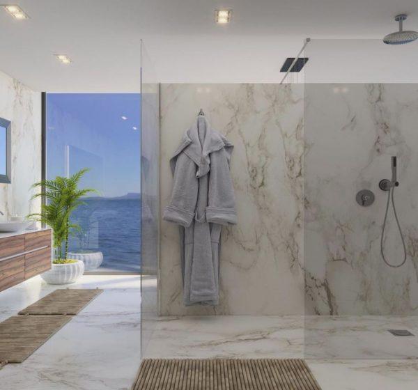 duchas grandes modernas