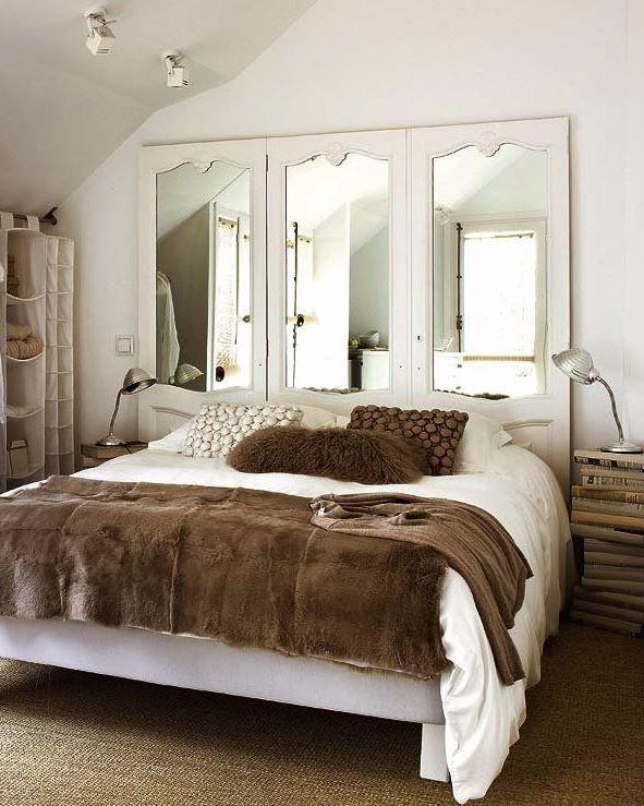 espejo cabecero cama feng shui