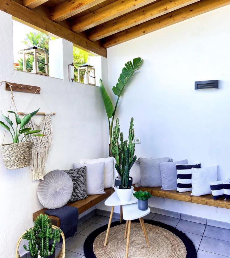ideas para decorar patios muy pequeños