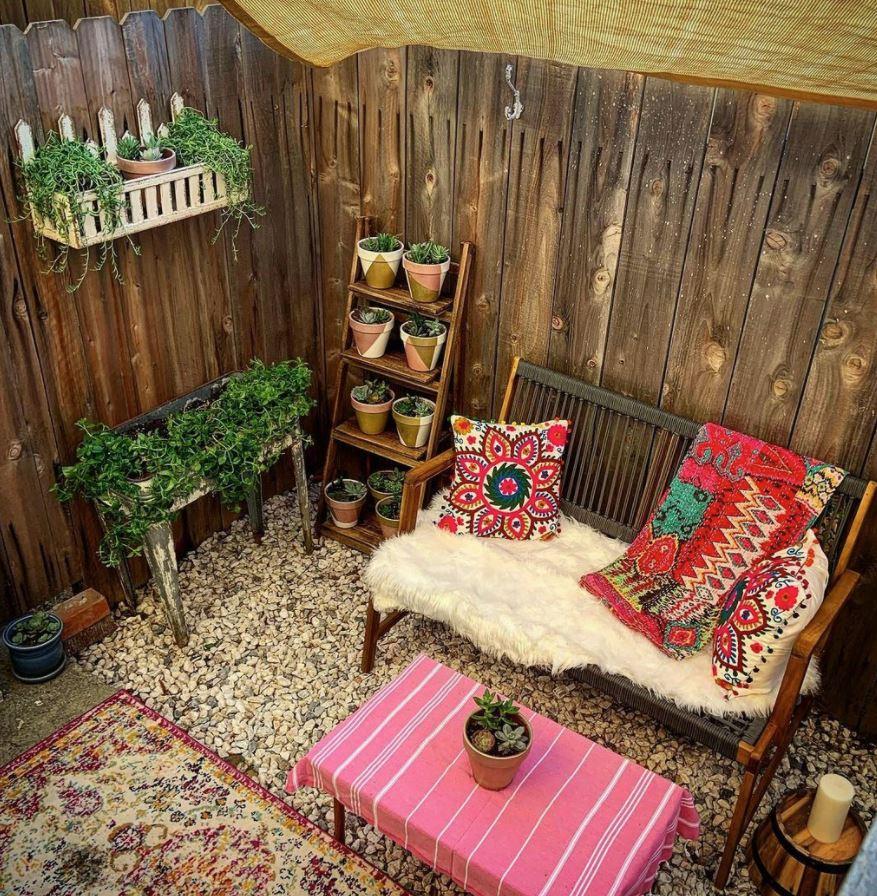 ideas para decorar patios pequeños