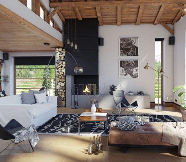 ideas para decorar salones rusticos