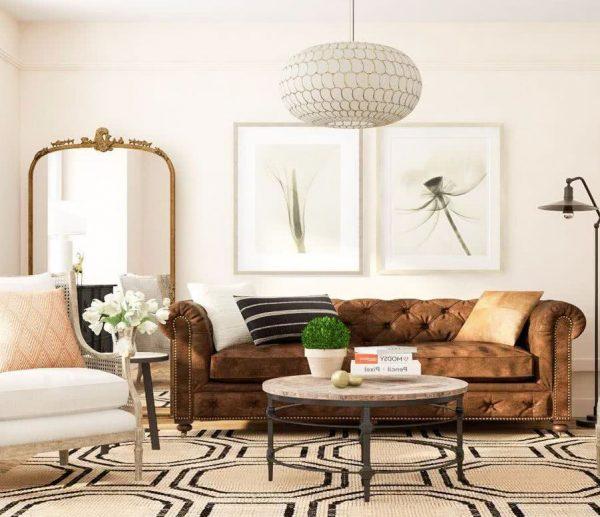 ideas para decorar un salon rustico moderno