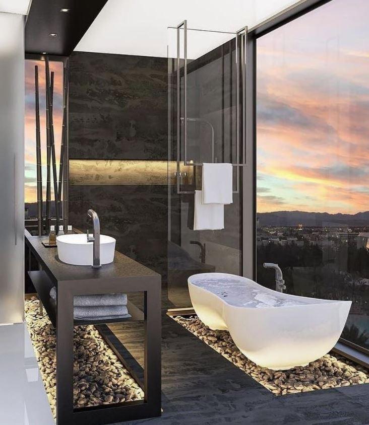 imagenes de baños modernos de lujo