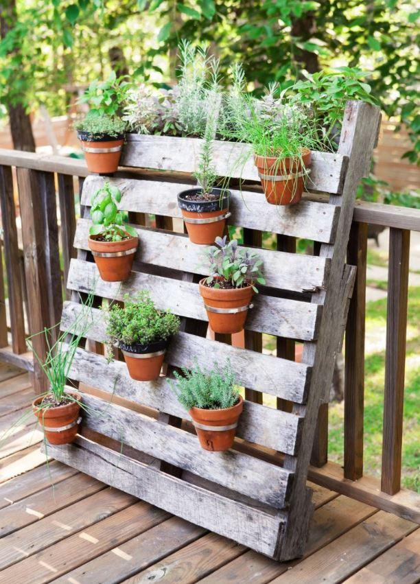 jardines verticales hechos en casa